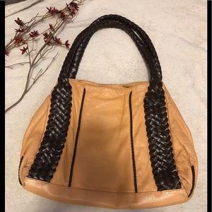 Desmo soft leather bag